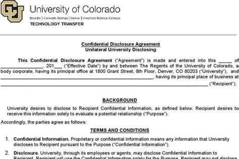 cda agreement template agreement template free premium templates