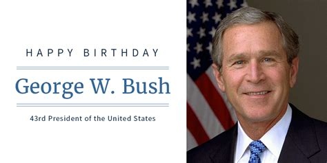 george w bush birthday happy birthday president george w bush 45 wh gov kpabsj