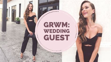 get ready with me wedding guest hair makeup youtube get ready with me wedding guest hair makeup outfit