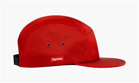 supreme cap supreme summer 2014 side rubber patch c cap highsnobiety