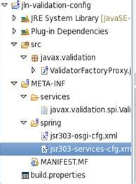 pattern javax validation modular j2ee using spring dm zk and eclipselink