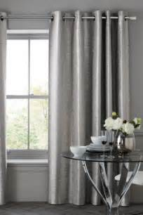 metallic grey curtains buy luxe metallic ikat stripe eyelet curtains from the