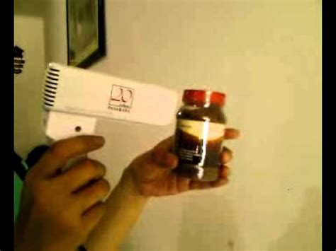 Alat Press Plastik Botol cara menyegel dengan plastik dan hairdryer