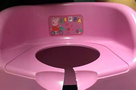 how to potty a 2 year rescue firecrews rescue toddler after peppa pig potty seat gets stuck on