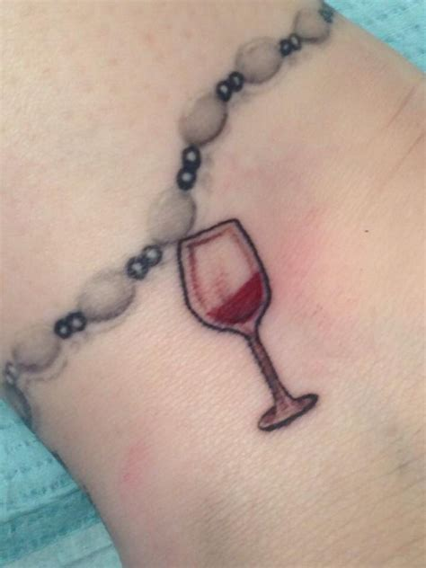 tattoo girl riesling collection of 25 bubbles and wine glass tattoos on right leg