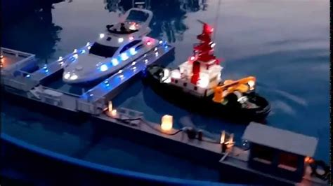 boat lights princess auto rc boat led saint tropez youtube