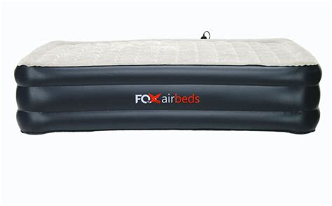 california king raised air mattress by fox air beds w built in ebay