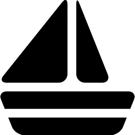 boat silhouette icon boat black silhouette icons free download