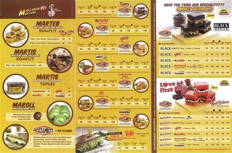 menu palugada  martabakku menteng jakarta  eat