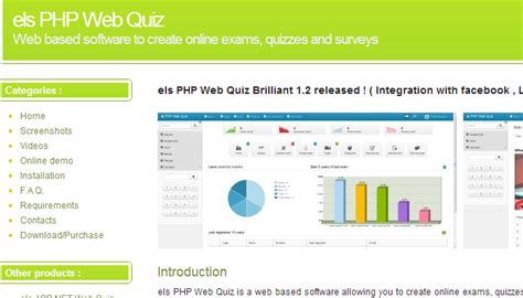 making quiz php nice quiz website template sketch exle resume ideas
