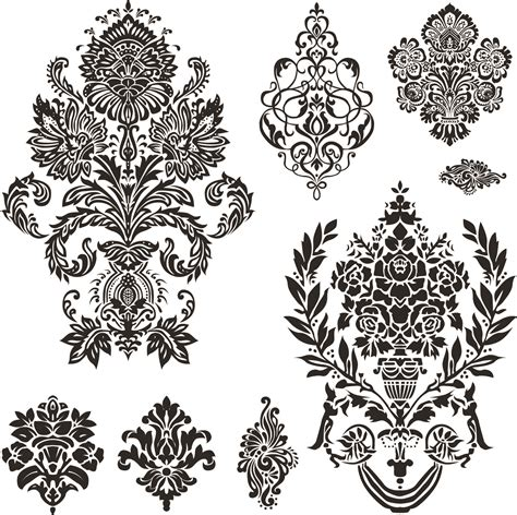 black pattern free vector black and white patterns 01 vector free vector 4vector
