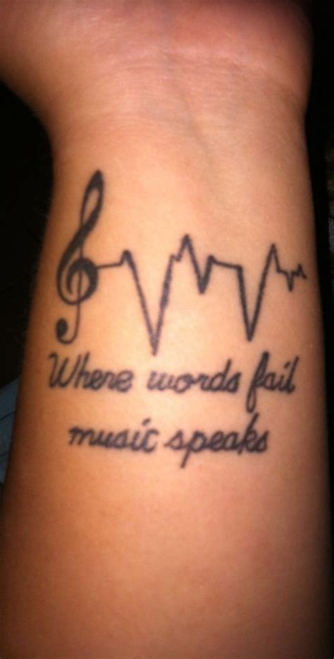 heart rate tattoo rate with words www pixshark images