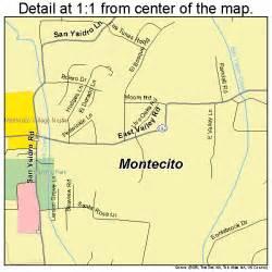 montecito california map 0648844