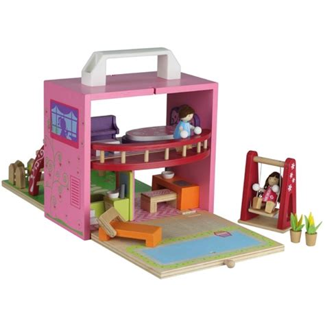 Portable Dollhouse Dolls House Pinterest