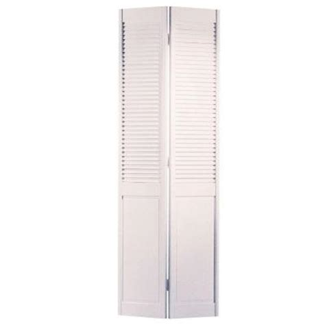 interior louvered doors home depot masonite smooth half louver primed pine interior closet bi