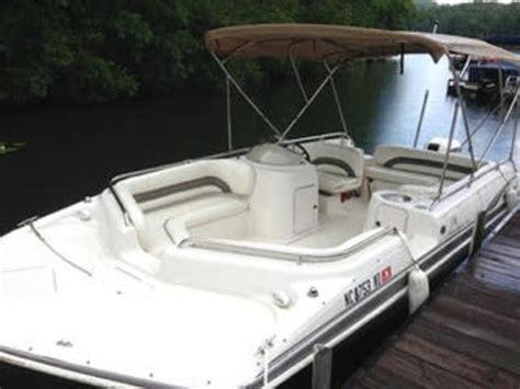 hurricane fundeck  deckboat powerboat  sale