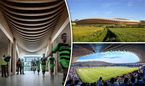 House Plans European forest green rovers to build the world s first all wooden
