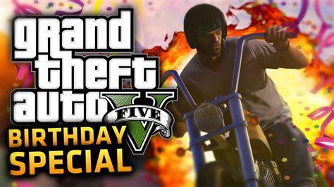 Terbatas Ps4 Bd Gta 5 Grand Thief Auto Region 3 gta 5 birthday special its my birthday q a gta 5 ps4 person gameplay