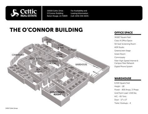celtics floor plan o connor building celtic real estate