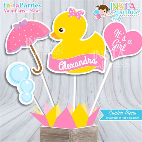 rubber ducky baby shower table decor rubber ducky baby shower centerpiece baby shower