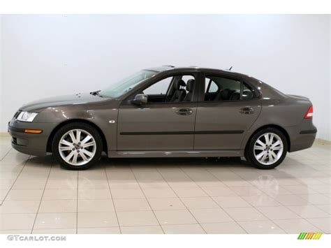 2007 smoke beige metallic saab 9 3 2 0t sport sedan