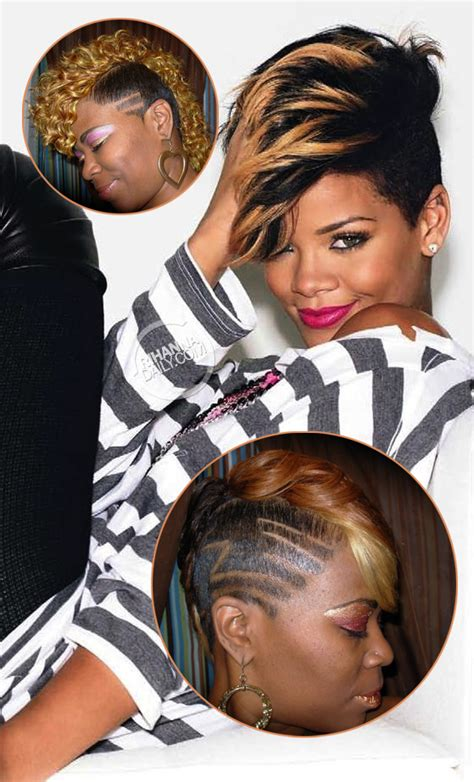 rihanna short hairstyles front and back rihanna haircuts from the back www pixshark com images