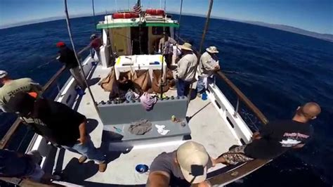 charter boat out of morro bay virg s landing hydratec charter august 2014 youtube