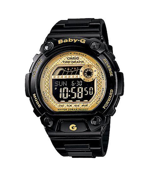G Shock Baby G Time Black Angka Gold g shock blx100 1c baby g black gold zumiez