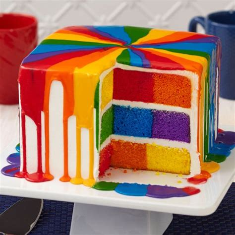 multi colored cake 17 best ideas about checkerboard cake on