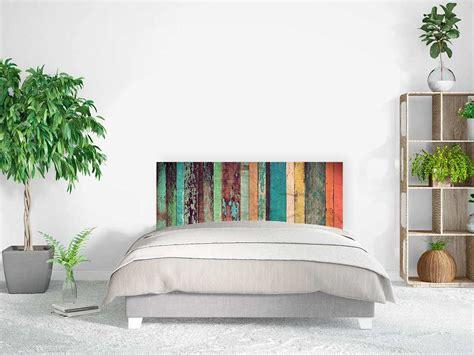 cama antigua de madera cabecero cama madera multicolor antigua oedim decor