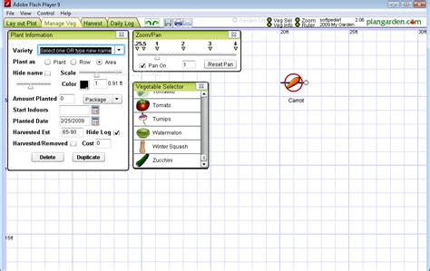 Vegetable Garden Layout Software Plangarden Vegetable Garden Design Garden Design Software Free Software