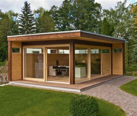 Backyard Buildings Modern Garden Sheds Transform Yours Now Founterior