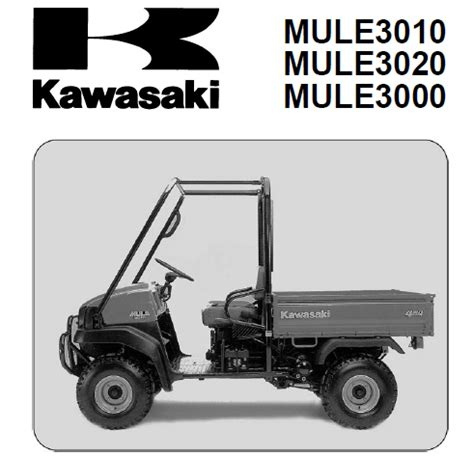 Kawasaki Mule 3010 Service Manual Download Service Manual