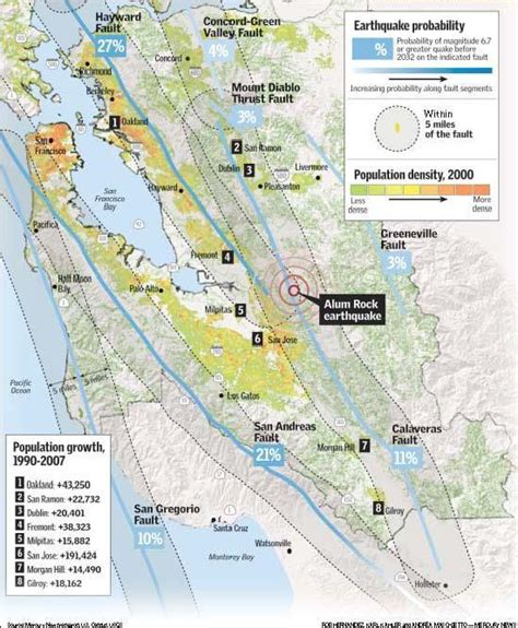 san jose fault map living on a fault homeowners shake quake risk the