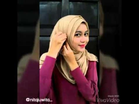 youtube tutorial pashmina tutorial hijab pashmina rawis simple trend hijab 2016