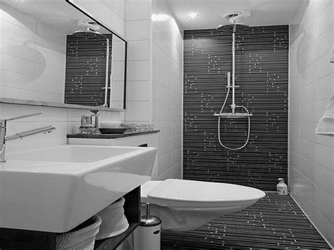 pictures of black and white bathrooms ideas cool black and white bathroom decor for your home