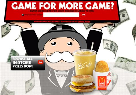 Mcdonalds Monopoly Instant Win Food Rules - mcdonald s monopoly is back again