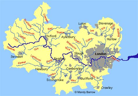 river thames catchment area map gallery river thames map for kids