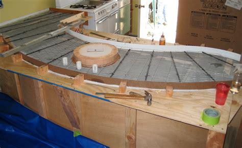 How To Make Concrete Countertops Ward Log Homes