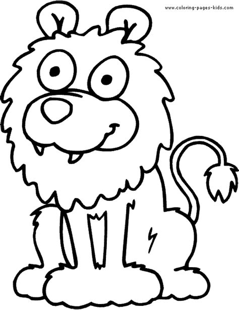 library lion coloring pages free cartoon lion pictures for kids download free clip