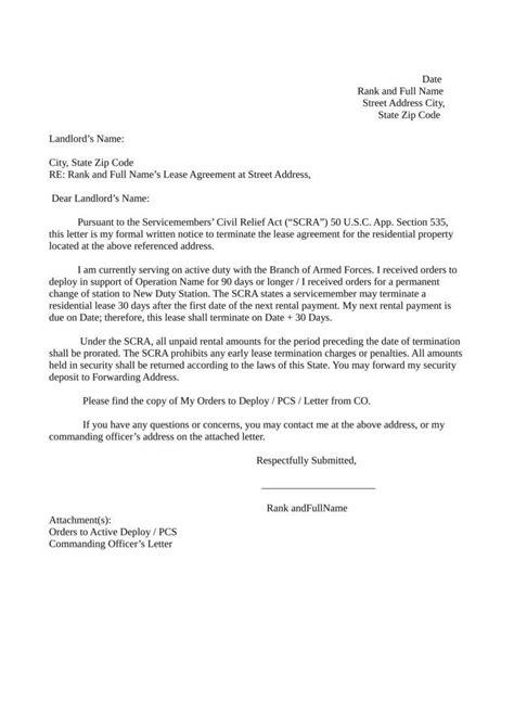 termination letter for rent 23 termination letter templates sles exles