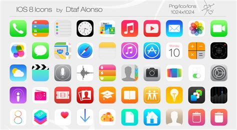 iPhone Icons App – free icons