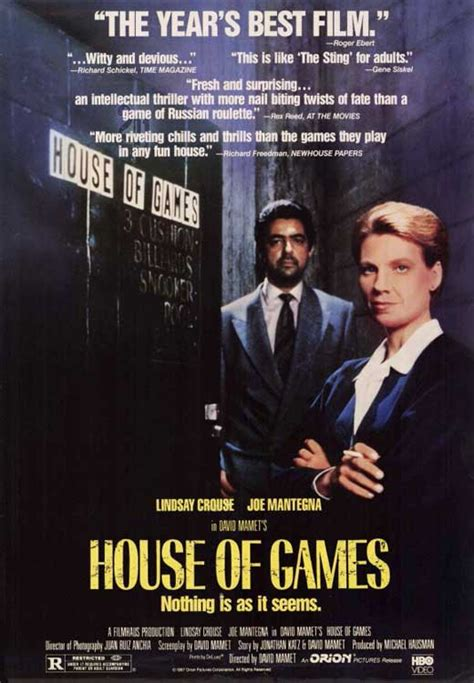 House Of Games Movie Posters From Movie Poster Shop
