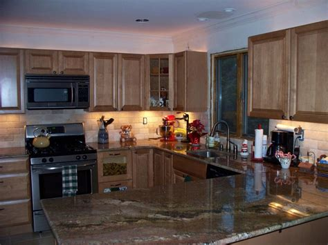 tiled kitchens ideas the best backsplash ideas for black granite countertops