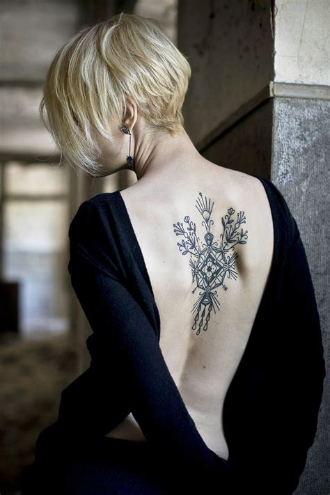 women s upper back tattoos 50 lovely back designs for amazing
