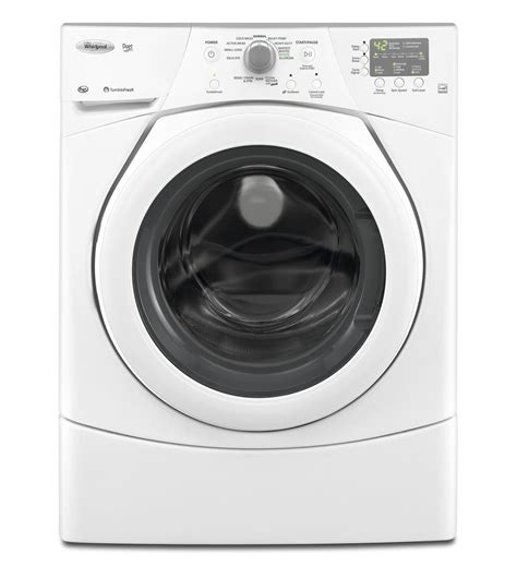 whirlpool 174 duet 174 3 5 cu ft front load washer with tumblefresh option wfw9151yw white