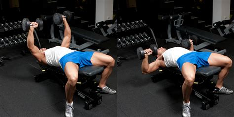bench press bar vs dumbbells decline dumbbell bench press weight training exercises 4 you