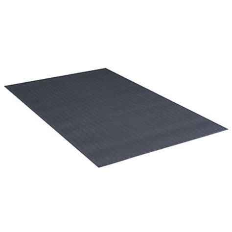 office depot brand anti fatigue vinyl floor mat 3 x 10 charcoal by office depot officemax