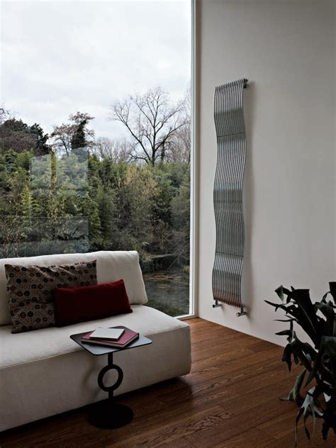 radiator design with a sleek shape operate with water