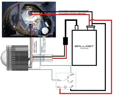 motorcycle hid wiring diagram with relay motorcycle